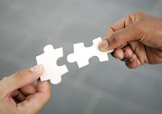 Teaser Hände Puzzle